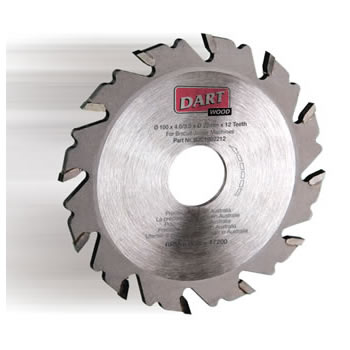 102mm x 12T x 22mm bore TCT Biscuit Joint Cutter Blade