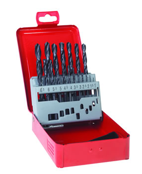 1-10mm HSS Rolled Twist Drill Sets