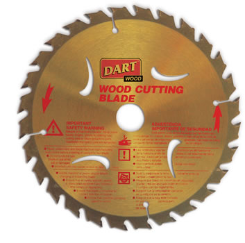 120mm x 28T x 20mm bore Gold TCT Wood Saw Blade