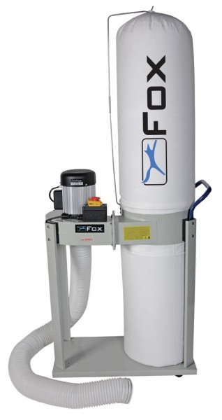 F50-841 Fox 1hp Dust Extractor