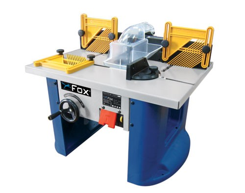 F60-100A Fox Router Table with Router