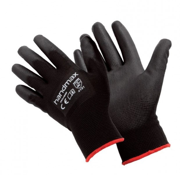 ATLANTA-XL Handmax Atlanta PU Glove Black Size XL (10)
