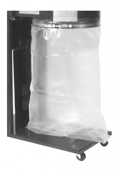 FOX Lower Clear Polythene Collector Bag for F50-841